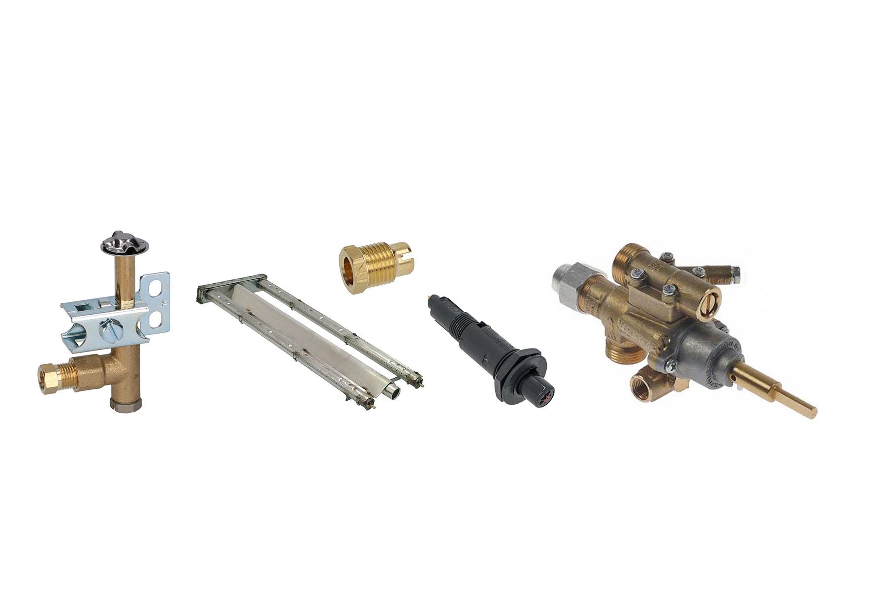 Gas komponenter