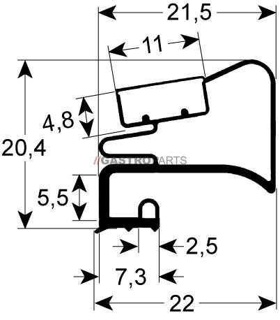 Profil 9525 - G91253