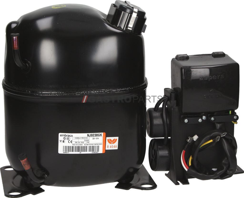 EMBRACO NJ9238GK CSR (R404A/R507 HMBP) - G0607
