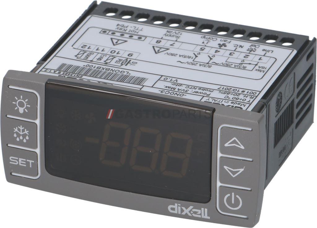 DIXELL XR60CX-0N0C3 -55 til 150 ° C - G0406