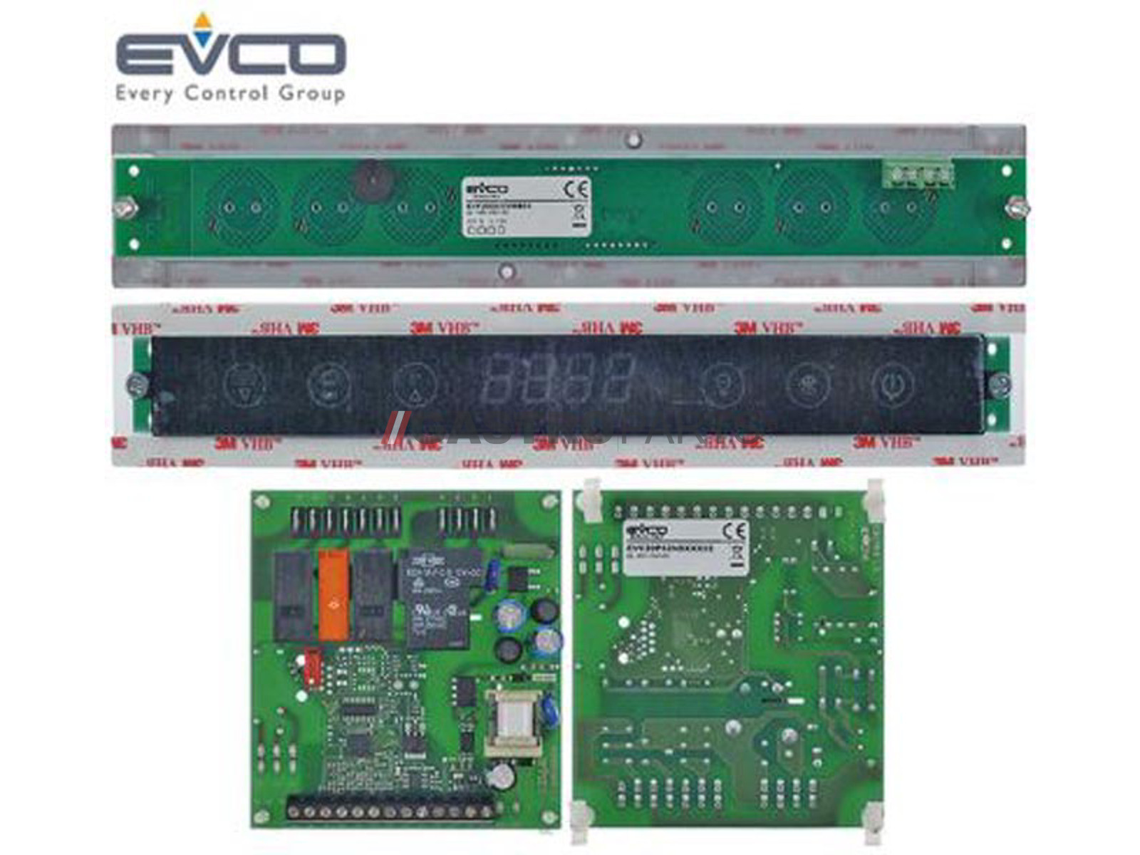 PCB Display + Kredskort - G0968