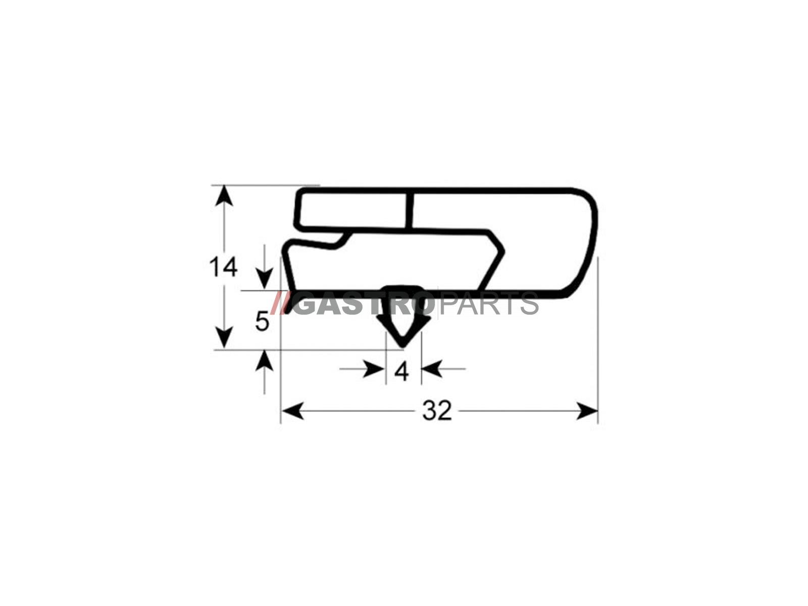 (Profil 9797) 590x390  mm - G91458